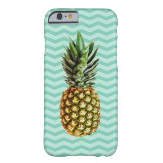 Pineapple lover mint green chevron iPhone 6 case