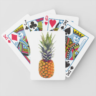 Pineapple Low-Poly Triangulated Bicycle Playing Cards
