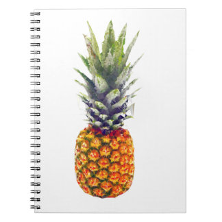 Pineapple Low-Poly Triangulated Notebook