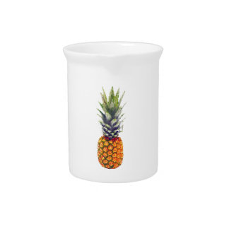 Pineapple Low-Poly Triangulated Pitcher