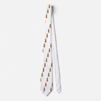 Pineapple Low-Poly Triangulated Tie