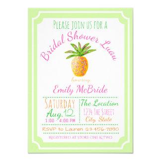 Pineapple Luau Bridal Shower Invitation