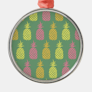 Pineapple Metal Ornament