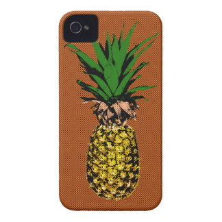 Pineapple Newsprint iPhone 4 Case