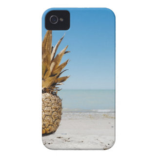 Pineapple on the Beach iPhone 4 Cover
