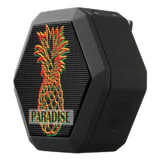 Pineapple Paradise Black Bluetooth Speaker