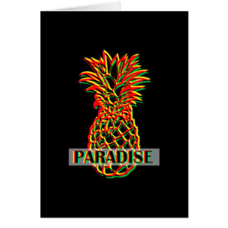 Pineapple Paradise Card
