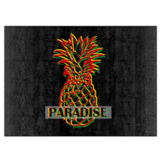 Pineapple Paradise Cutting Board