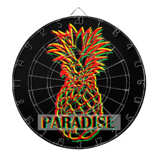 Pineapple Paradise Dartboard With Darts