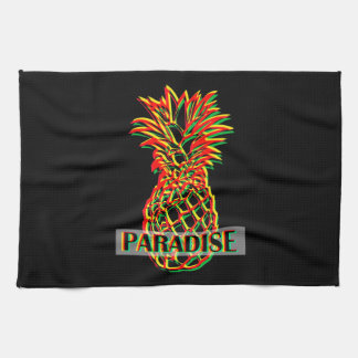 Pineapple Paradise Hand Towel