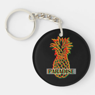 Pineapple Paradise Key Ring