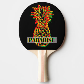 Pineapple Paradise Ping Pong Paddle
