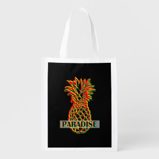 Pineapple Paradise Reusable Grocery Bag