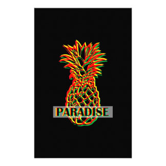 Pineapple Paradise Stationery