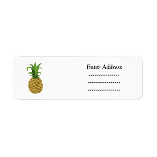 Pineapple Party  address label Sticker
