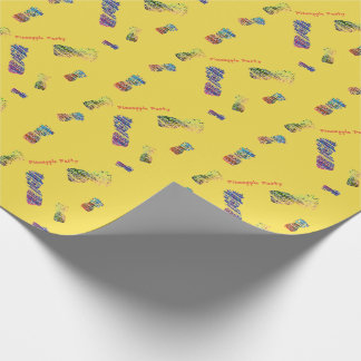 Pineapple Party Wrapping Paper