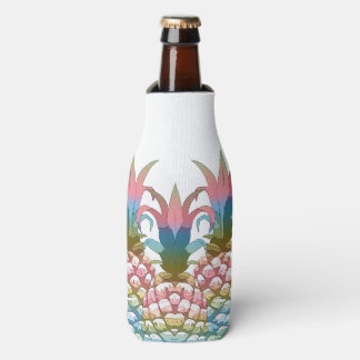 Pineapple Pastel Gradient ID246 Bottle Cooler
