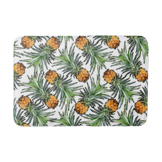 Pineapple Pattern Bath Mat