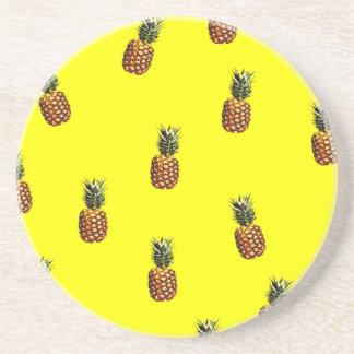 pineapple pattern coasters