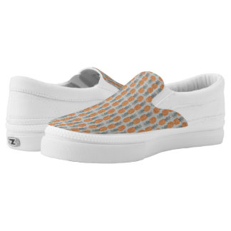 Pineapple Pattern fruit cool shoes Printed Shoes