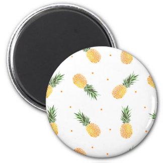 Pineapple Pattern Magnet