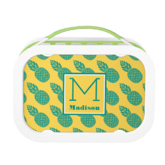 Pineapple Pattern | Monogram Lunchboxes