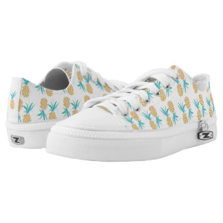 Pineapple Pattern Printed Shoes