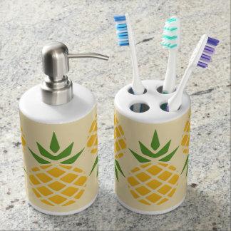 Pineapple Pattern Soap Dispenser