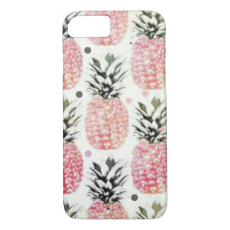 Pineapple pink iPhone 7 case