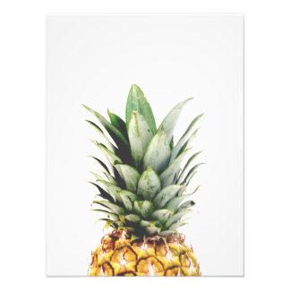 Pineapple Portrait Photo Print