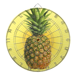 Pineapple Power Dartboard