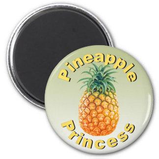 Pineapple Princess Magnet