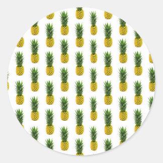 Pineapple Print Sticker