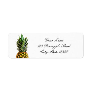 Pineapple return address stickers return address label