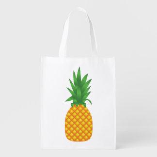 Pineapple Reusable Grocery Bag