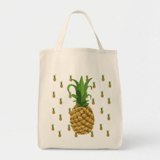 Pineapple Reusable Grocery Tote Bag