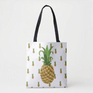 Pineapple Reusable Tote Bag