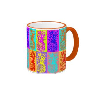 Pineapple Ringer Mug