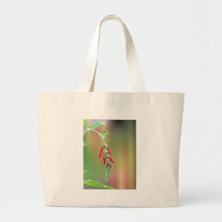 Pineapple Sage Bloom Large Tote Bag