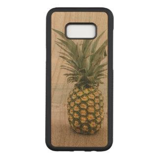 Pineapple Samsung Galaxy S8+ Slim Cherry Wood Case