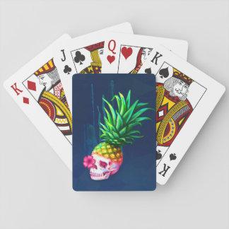 Pineapple Skull Cards