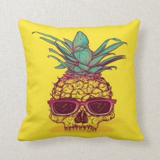 Pineapple Skull Head Cushion