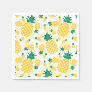 Pineapple Standard Cocktail Paper Napkins
