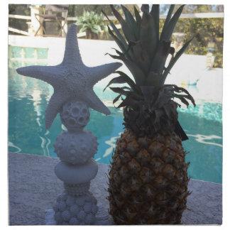 Pineapple Starfish Napkin