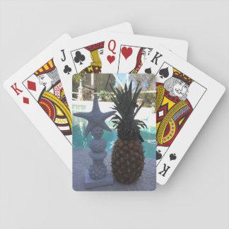 Pineapple Starfish Playing Cards