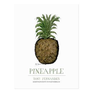 pineapple, tony fernandes postcard