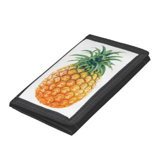 Pineapple Trifold Wallet