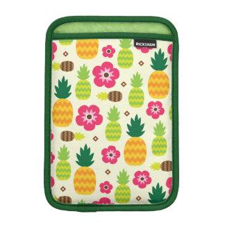 Pineapple Tropical Summer Seamless Pattern iPad Mini Sleeve