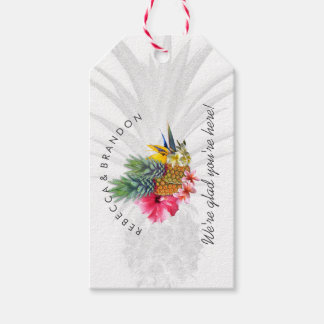 Pineapple Tropical Wedding Personalized