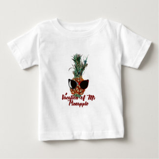 Pineapple vacations. Humor print Baby T-Shirt